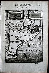 Plan of Constantinople.