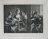 Semiramis Receiving the news of the  Revolt ofthe Persians, by Francesco Barbieri, called Guercino da Cento
